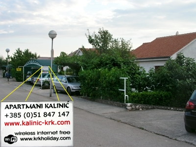 Apartnents Kalinić Njivice